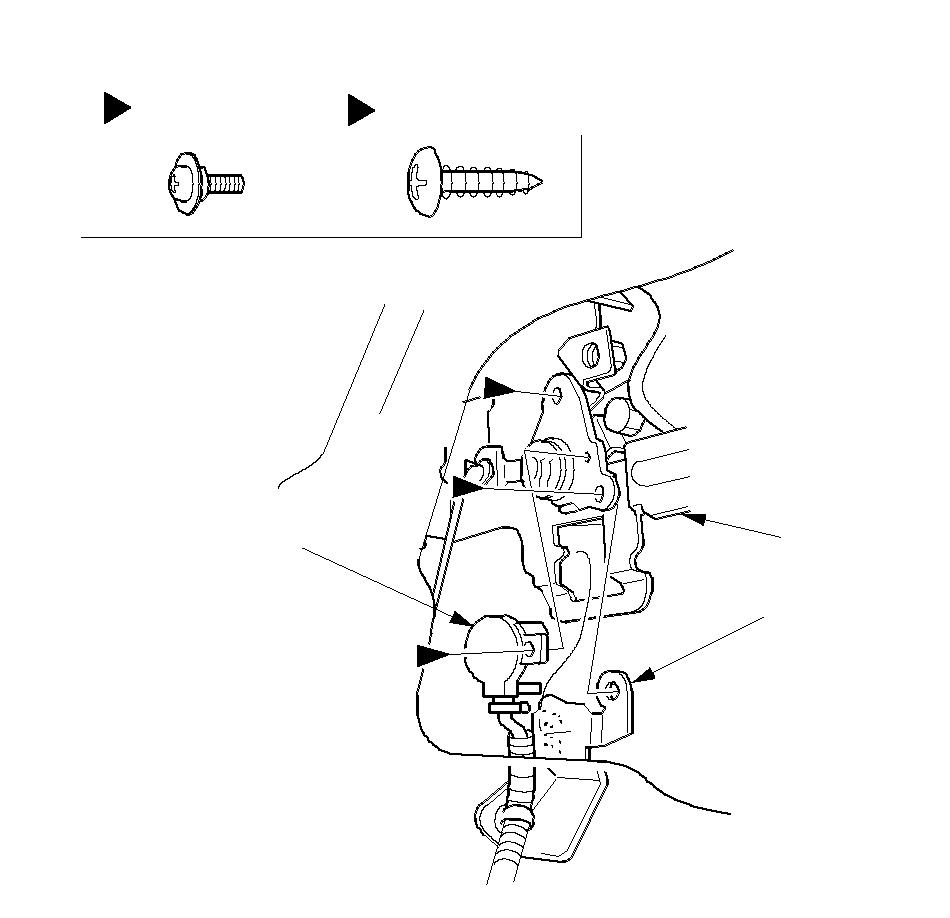 Front Door Outer Handle Replacement (Except KH)