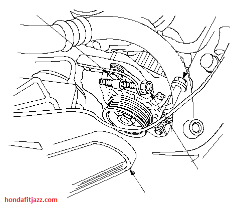 How to change 1stgen serpentine belt Unofficial Honda FIT Forums