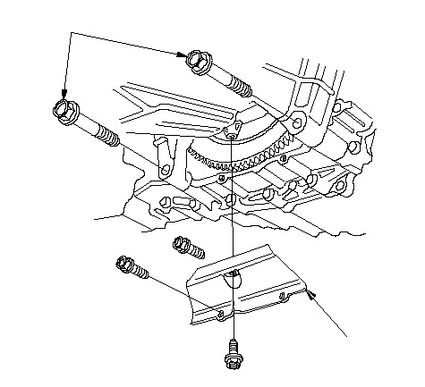 Engine Oil Pan Removal